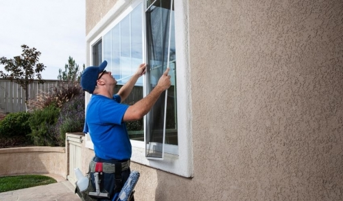 Window Maintenance and Screen Repair