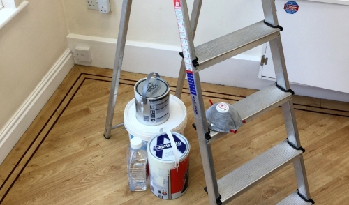 Protecting Interior Surfaces While Painting