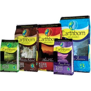 $5 Off Select Bags of Earthborn Holistic Dog Food