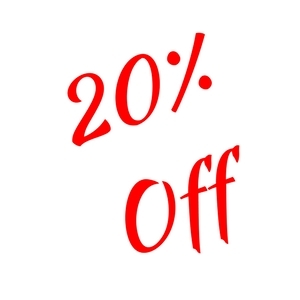 20% Off Select In Store Items