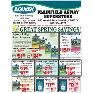 April Sales Flyer