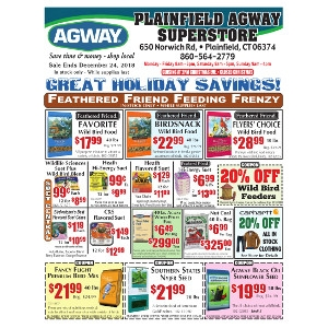 december sales flyer plainfield agway plainfield ct