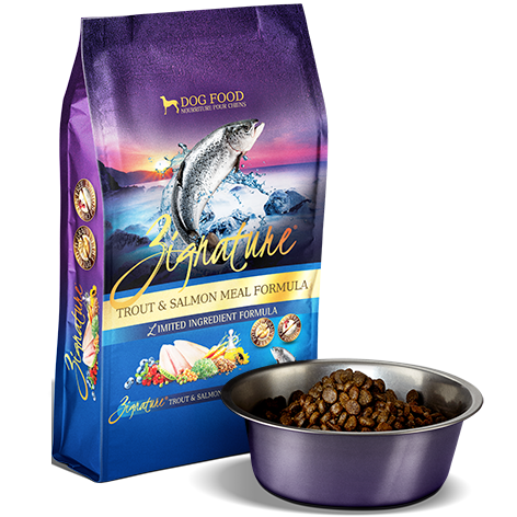 Zignature Trout & Salmon Meal Formula for Dogs 27 Pound