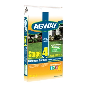 Agway Stage 4 Winterizer Fertilizer 22-0-10 5m