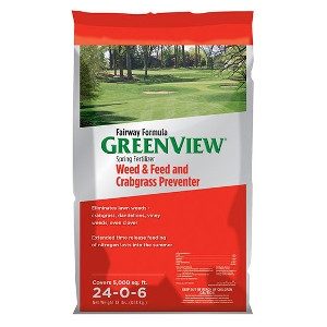 GreenView Fairway Formula Spring Fertilizer Weed & Feed and Crabgrass Preventer