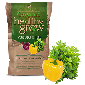 Dave Thompson's Organic Healthy Grow Vegetable and Herb 3-5-3 6lb