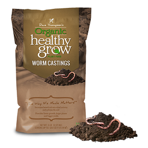 Dave Thompson's Organic Healthy Grow Worm Castings 1-0-01 15lb
