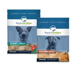 20% Off Barkworthies Superfood 4oz Jerky Treats