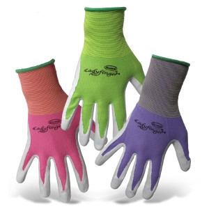 Boss Ladyfinger Nitrile Palm Gloves $2.99