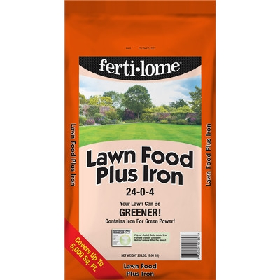 Fertilome Lawn Food Plus Iron, 20 lbs.