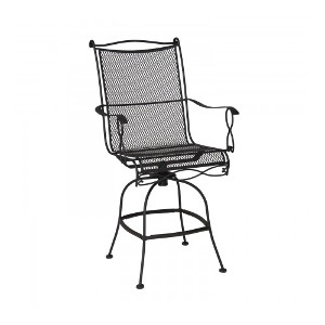 Rialto Mesh Swivel Bar Stool