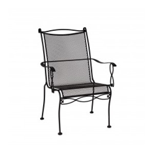 Rialto Mesh Dining Arm Chair