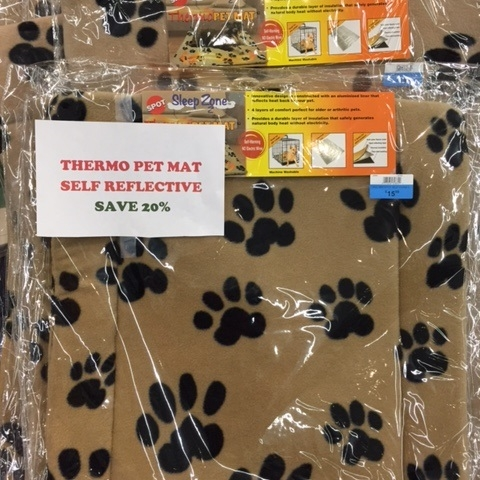 20% off Thermo Self Reflective Pet Mats
