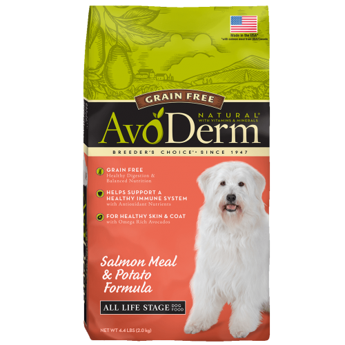 20% off Select AvoDerm Dog Food