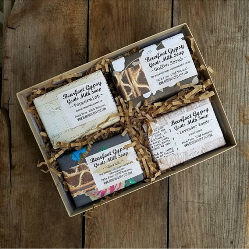Bearfoot Gypsy Handcrafted Artisan Goat's Milk Soap