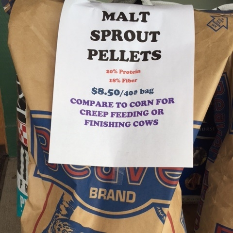 Malt Sprout Pellets