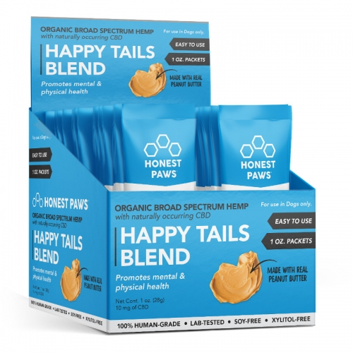 Honest Paws® Happy Tails Blend Roasted Peanut Butter Calming Bites