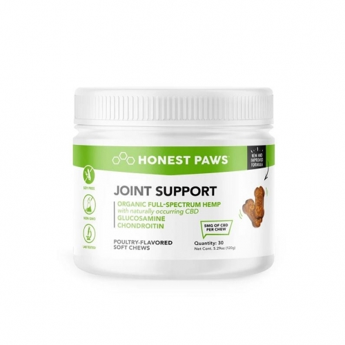 Honest Paws Joint Support CBD Soft Chews