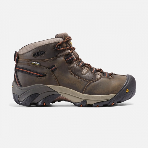 Keen Men's Detroit Soft Toe Mid Work Boot