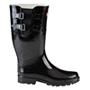 Puddletons Women's Cozy Fleece-Lined Rain Boot