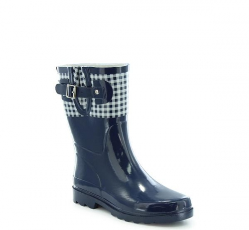 Western Chief Women's Picnic Check Top Pop Rain Boot