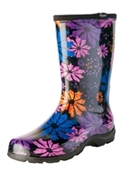Sloggers Women's Flower Power Rain & Garden Boot