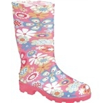 Ranger Splash Series Kids' Flowers Rain Boot
