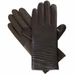 Isotoner Women's Smartouch Faux Leather Glove w/Quilting Detail