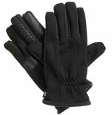 Isotoner Men's Smartouch Ultra Dry Gloves