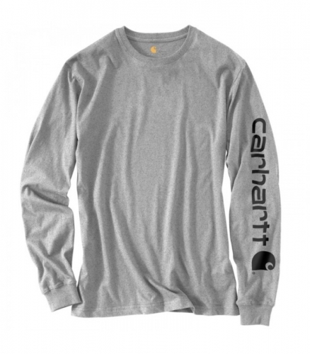 CarharttLong Sleeve Graphic Logo T-Shirt