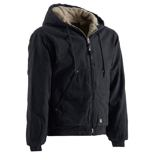 Berne Men's High Country Sherpa-Lined Hooded Jacket