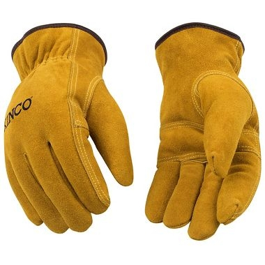 Kinco Lined Split Cowhide Leather Driver Gloves