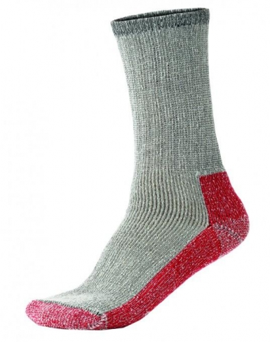 Terramar Men's Thermal Crew Sock 2-Pack