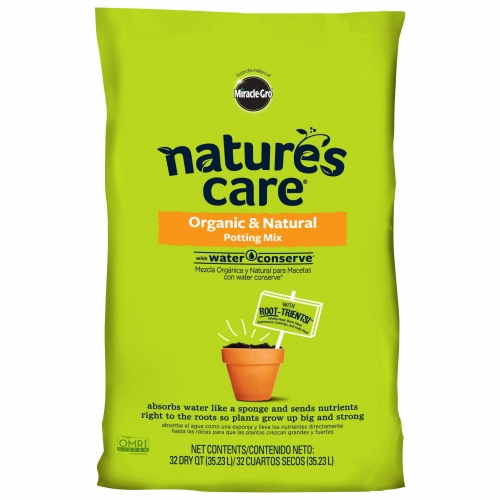 Miracle Grow Nature's Care Organic Potting Mix