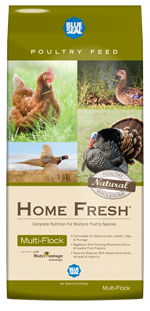 Blue Seal Home Fresh Multi-Flock Starter/Grower Pellets