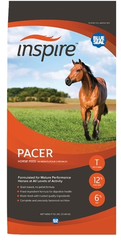 Blue Seal Inspire Pacer 12% Sweet Horse Feed