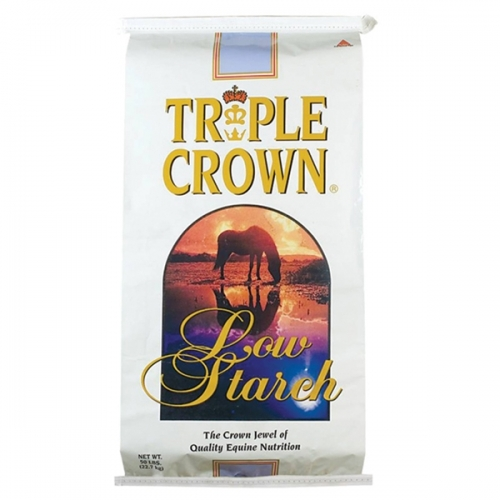 Triple Crown Low Starch Horse Feed