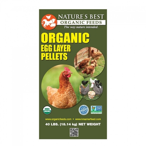 Nature's Best 16% Organic Layer Pellets