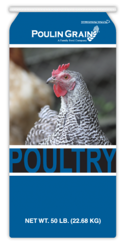 Poulin Grain Quik Grow Broiler Crumbles