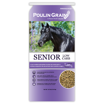Poulin Grain Equi-Pro E-Tec Senior Low Carb Horse Feed