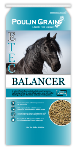 Poulin Grain E-Tec Balancer Pellet Horse Feed
