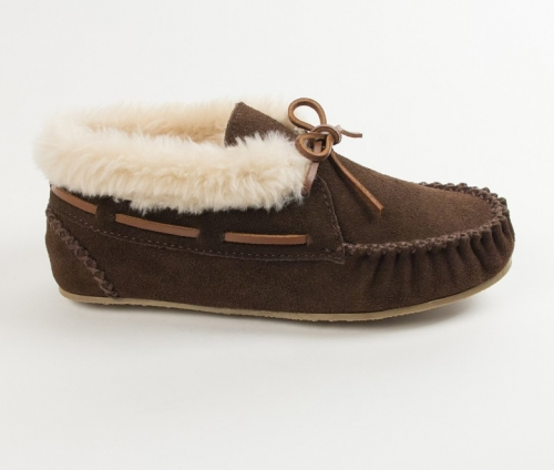 Minnetonka Ladies' Chrissy Bootie Slipper