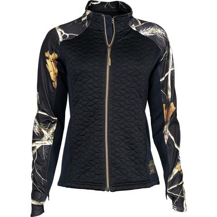 Women's Rocky Black/Realtree Camo Quilt Knit Jacket