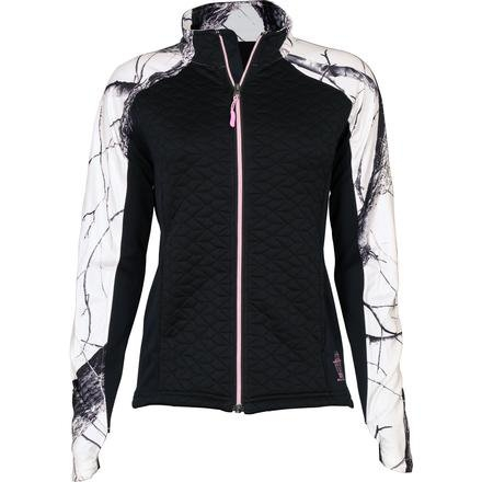 Women's Rocky Black/Realtree Snow Camo Quilt-Knit Jacket