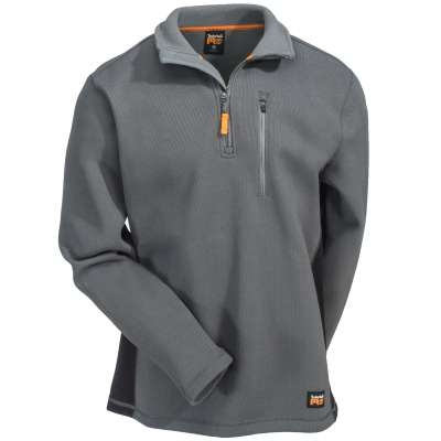 Timberland Pro Men's Studwall 1/4 Zip Textured Fleece Shirt