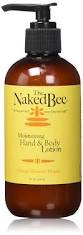 The Naked Bee Orange Blossom Honey Moisturizing Hand & Body Lotion Pump Bottle