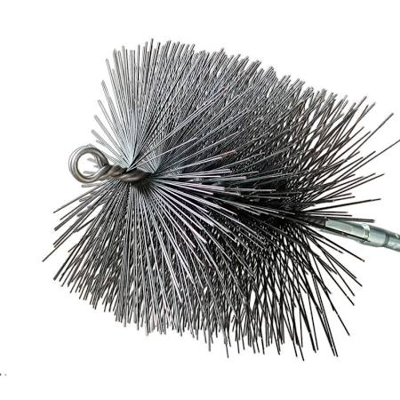 8x8 Square Wire Chimney Cleaning Brush