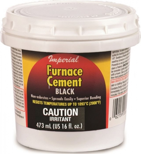 Imperial 16 oz. Black Furnace Cement