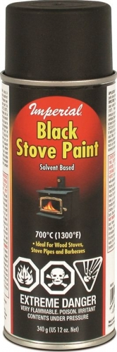 Imperial Black Stove Spray Paint
