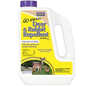Bonide Go Away! Deer & Rabbit Repellent Granules